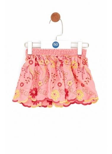 BG Baby Kız Bebek Desenli Etek Renkli